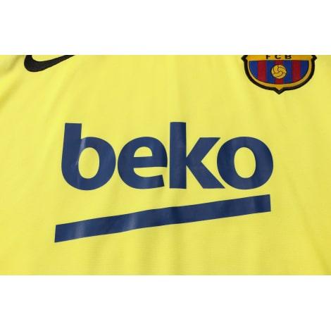 Желто-синяя тренировочная форма Барселоны 2021-2022 титульный спонсор