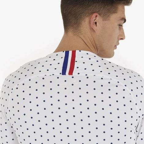 Гостевая футболка сборной Франции на Чемпионат Европы 2020 сзади