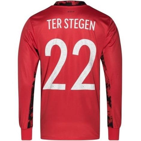 Вратарская домашняя футболка сборной Германии на ЕВРО 2020 Терштеген