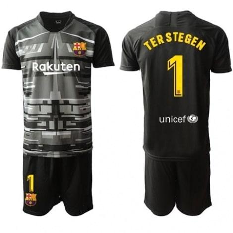 Детская гостевая футбольная форма Тер Штеген 2019-2020