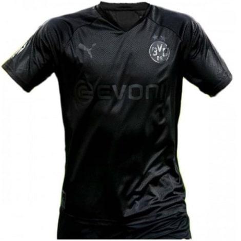 Черная игровая футболка Боруссии Дортмунд 2019-2020