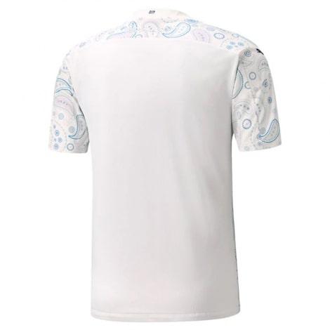 Детская третья форма Манчестер Сити 2020-2021 футболка сзади