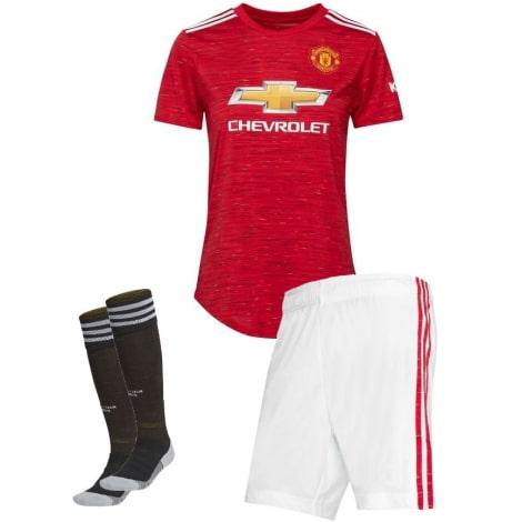 Взрослая домашняя форма Манчестер Юнайтед 20-21