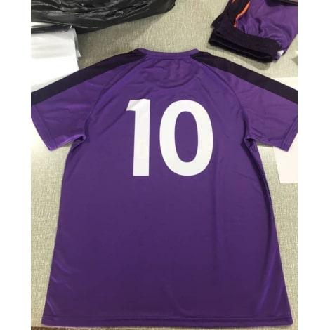 Футбольная форма фиолетовая дизайн Ливерпуля 18-19 на заказ номер