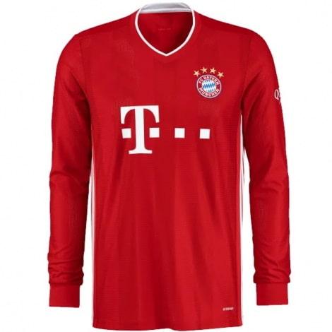 Домашняя форма Баварии с длинными рукавами 20-21 футболка