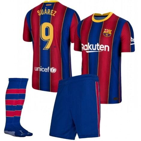 Детская домашняя футбольная форма Луис Суарес 2020-2021