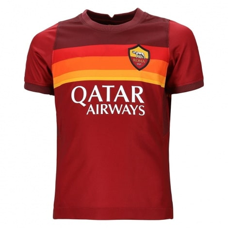 Комплект детской домашней формы Ромы 2020-2021 футболка