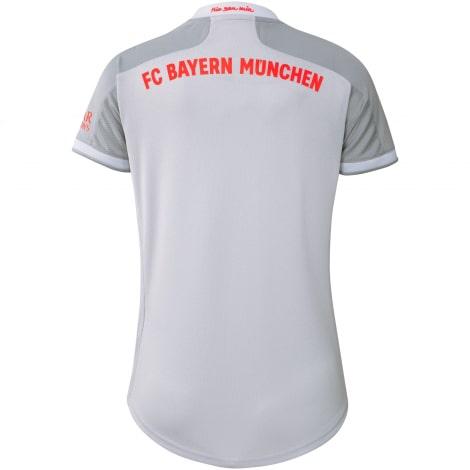 Женская гостевая футболка Баварии 2020-2021 сзади