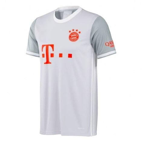 Комплект детской гостевой формы Баварии 2020-2021 футболка