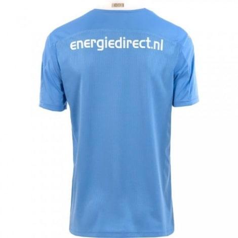 Комплект взрослой гостевой формы ПСВ 2020-2021 футболка сзади