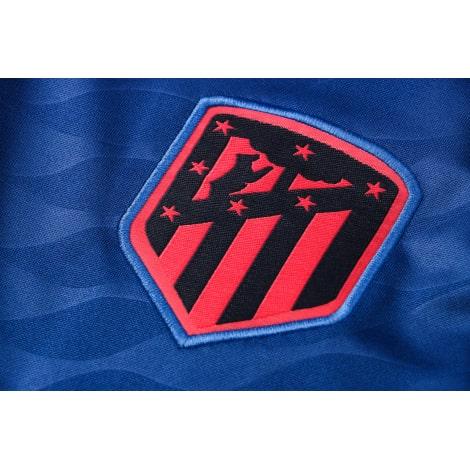 Синий костюм Атлетико Мадрид 2021-2022 герб клуба