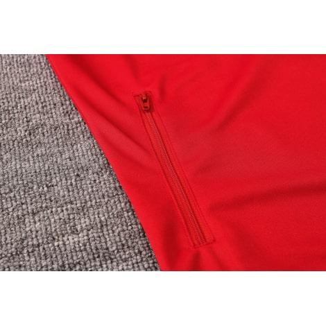 Красный спортивный костюм Бавария 2021-2022 карман