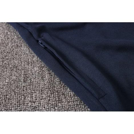 Синий спортивный костюм Ювентуса 2021-2022 карман