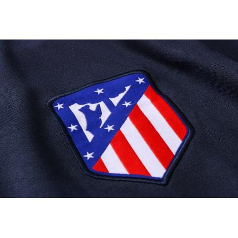 Черно-сине-красный костюм Атлетико Мадрид 2021-2022 герб клуба