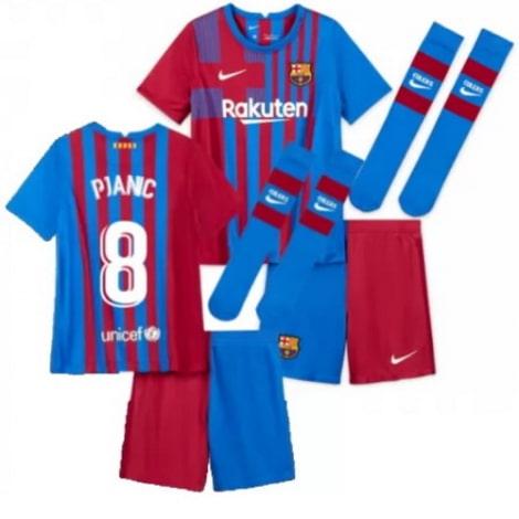Детская домашняя футбольная форма Пьянич 2021-2022