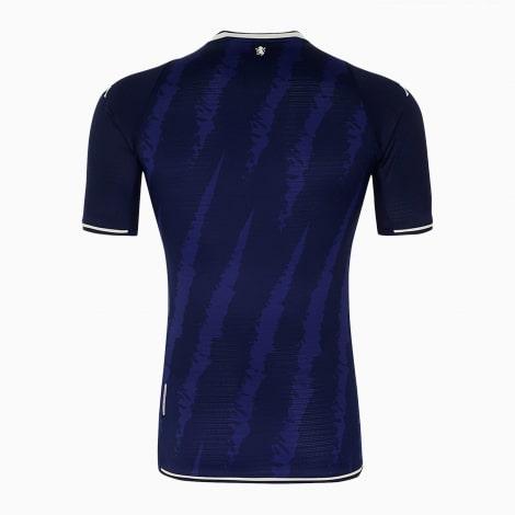 Третья игровая футболка Астон Виллаа 21-22 сзади