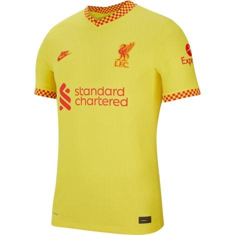 Третья аутентичная футболка Ливерпуля 2021-2022