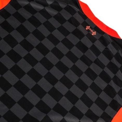 Комплект взрослой третьей формы Ливерпуля 2020-2021 футболка сзади