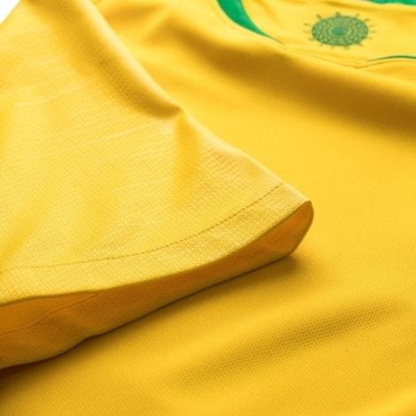 Футболка сборной Бразилии на ЧМ 2018 Неймар рукав