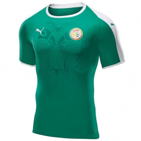 Гостевая футболка сборной Сенегала на чемпионат мира 2018