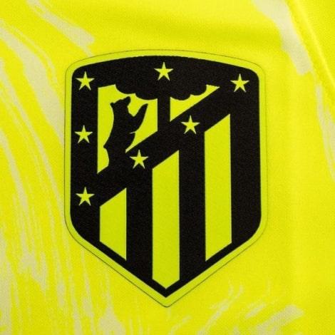 Взрослый комплект третьей формы Атлетико 2020-2021 футболка герб клуба