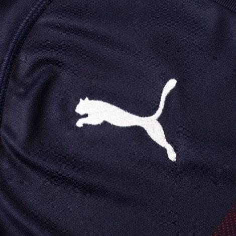 Детская гостевая футбольная форма Арсенал 2018-2019 лого производителя