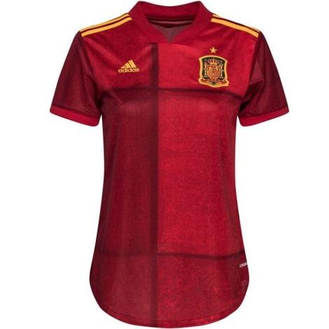 Женская домашняя футболка Испании на ЕВРО 2020-21