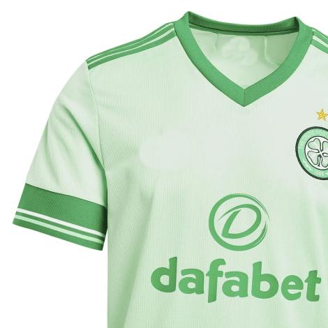 Комплект детской гостевой формы Селтик 2020-2021 футболка