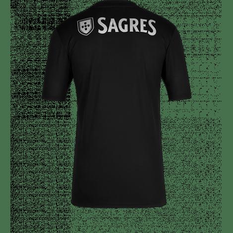 Гостевая игровая футболка Бенфика 2020-2021 сзади