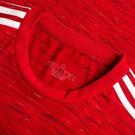 Домашняя форма Ман Юн 2020-2021 c длинными рукавами футболка воротник