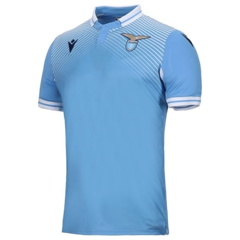 Комплект детской домашней формы Лацио 2020-2021 футболка сбоку