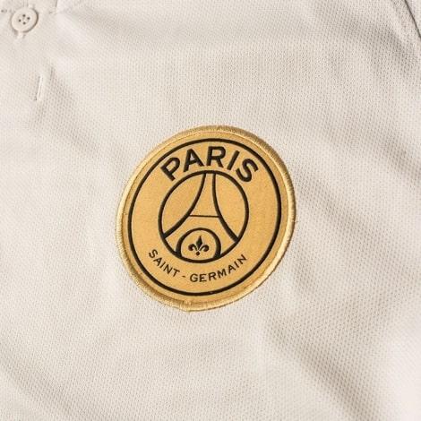 Гостевая игровая футболка ПСЖ 2018-2019 герб клуба