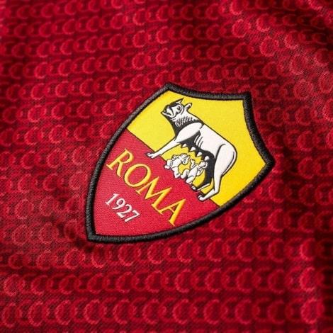 Домашняя игровая футболка Ромы 2018-2019 герб клуба