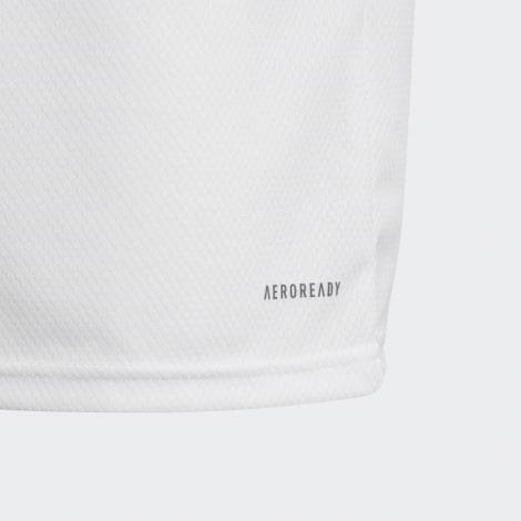 Детская домашняя футбольная форма Барселона 2017-2018 футболка сзади
