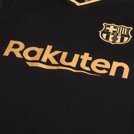 Гостевая футболка Барселоны 2020-2021 Лионель Месси титульный спонсор