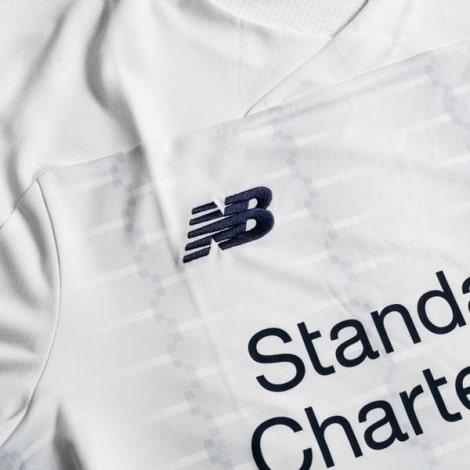 Женская гостевая футболка Ливерпуля 2019-2020 бренд