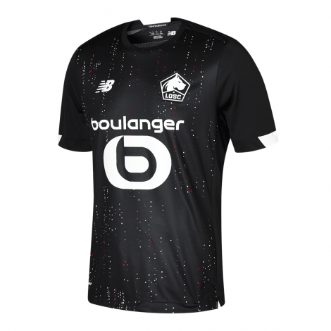 Комплект взрослой гостевой формы Лилля 2020-2021 футболка