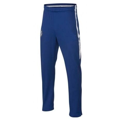 Взрослый синий тренировочный костюм Челси 2018-2019 штаны