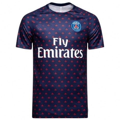 Синяя тренировочная футболка ПСЖ 2018-2019