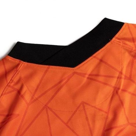 Домашняя футбольная форма сборной Голландии ЕВРО 2020 футболка шорты и гетры сзади