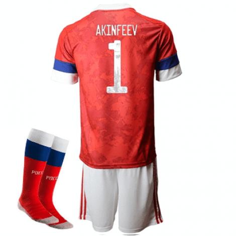 Детская домашняя форма России Акинфеев на ЕВРО 2020