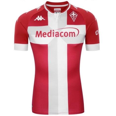 Третья футболка Фиорентины 2020-2021 Кокорин номер 91 спереди