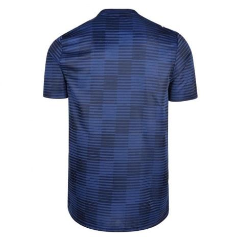 Гостевая игровая футболка Фулхэма 2018-2019 сзади