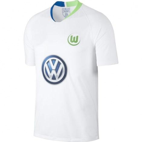 Гостевая игровая футболка Вольфсбурга 2018-2019