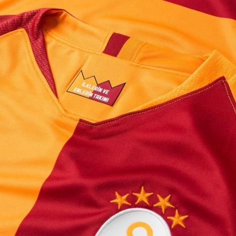 Домашняя игровая футболка Галатасарай 2018-2019 воротник