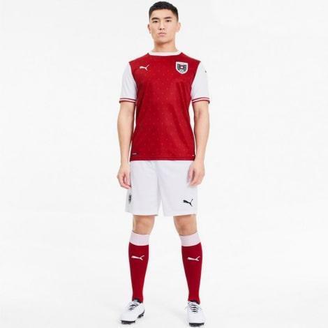 Домашняя игровая футболка сборной Австрии на ЕВРО 2020-2021