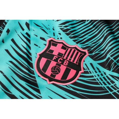 Пальмовый костюм Барселоны 2021-2022 герб клуба