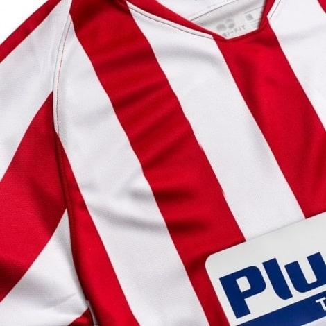 Взрослый комплект домашней формы Атлетико 2019-2020 футболка бренд