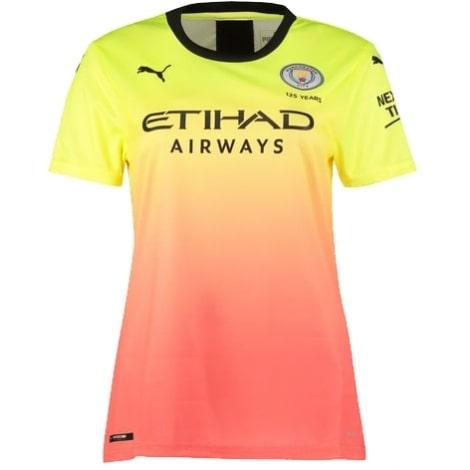 Женская третья футболка Манчестер Сити 2019-2020