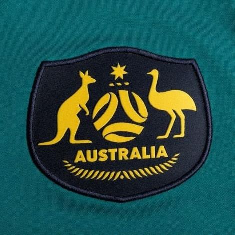 Гостевая футболка сборной Австралии 2020-2021